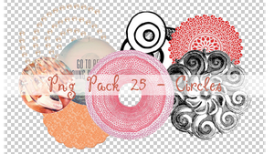 PNG PACK 25 - CIRCLES by ChantiiGG