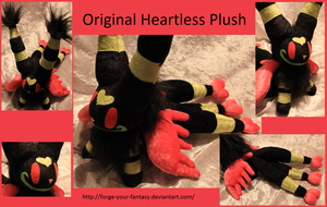 Heartless Plush - Little Fox Original Character by Forge-Your-Fantasy
