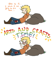 THG- ARTS AND CRAFTS by Cherrie-Keane