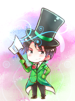 Chibi Victor - Once Ler by Anniih