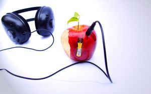 Wallpaper - Beatles N Apple by guilhermegn