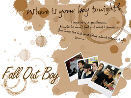 Fall Out Boy Wallpaper by ice-box-angel