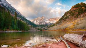 Maroon Bells by jbkalla