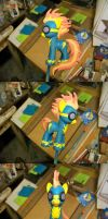 Airbrushed Pony Hot Plastic! by batosan