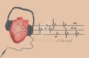 Love for music by IevaNoir