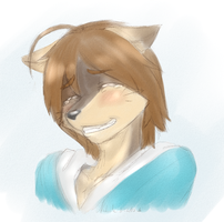 -Color Sketch- Don't Cry... by Nukude