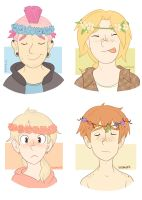 Flower Crowns by SadMilks