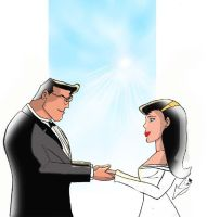 Lois and Clark Tie The Knot by Superchica