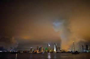 Downtown Smoke by roarbinson