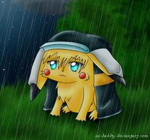 the rain falls down by Isi-Daddy