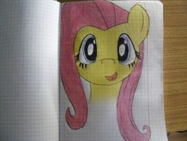 Fluttershy (Finished) by FaethorFerenczy