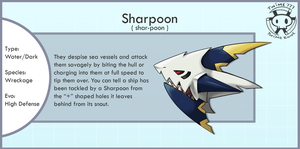 Evolution of Sharpedo by Twime777