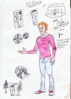 Tom Brown Concept Art by IronOutlaw56