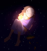 Filled with Determination ~ Undertale by Sweet-Crow