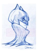 TOYART_SKETCH1_BATMAN by CrisDelaraArt