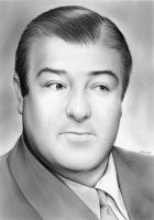 Lou Costello by gregchapin