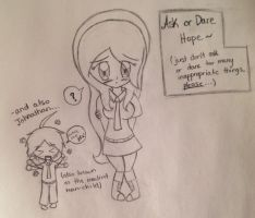 Ask or Dare Hope (and Johnathan) by AwepicNess70