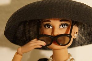 Holly Golightly OOAK by lulemee