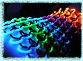 Back Of Glowy Glove Chainmail by kinyo-spoons