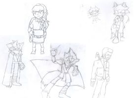 Some sketches by YeyeiAlba