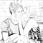 Tutorial ( IT )- Convert photo to pencil sketch - by Doucesse