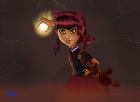 Annie LoL Colored version by johannes111