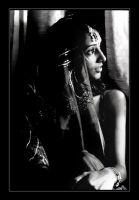 indian bride by makesomemorenoise
