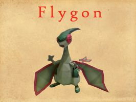 flygon papercraft by dodoman75
