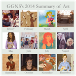 2014 Summary of Art by ggns