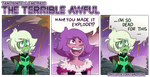 The Terrible Awful - Mini Comic by iPhysik