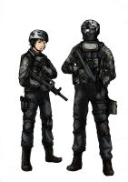 BF4 PLA Assault class (Colored) by ND-2500