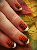 Halloween Nails by BenjiiBen