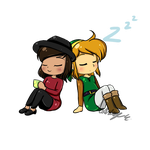 Tea and Zzz by Gentle-As-A-Lily