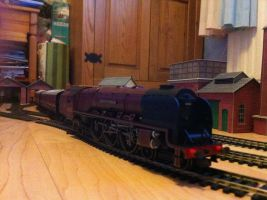 LMS Duchess of Sutherland by Crystal-Eclair