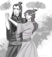 May I Have This Dance? - Ursa and Ozai by Equestrian-Equine