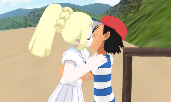 Ash and Lillie 10 by The-Horrible-Mu