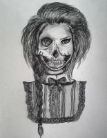 Skeleton Girl by Maudpx