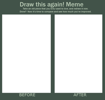 Meme: Before and After by Bampire