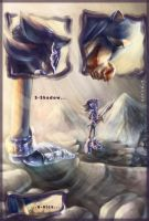 Sonic VS Shadow the Lancelot by AllesiaTheHedge