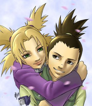 Shikamaru and Temari by Amon-The-Wrath