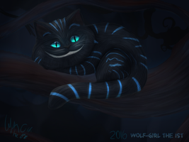 Chessire cat by Wolfgirlthe1st