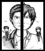 SPN - different, yet alike. by dongpeiyen1000