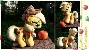 Applejack, the element of shipping by Baraka1980