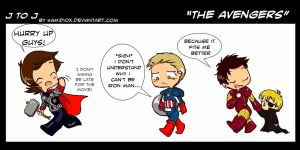 J to J: The Avengers by KamiDiox