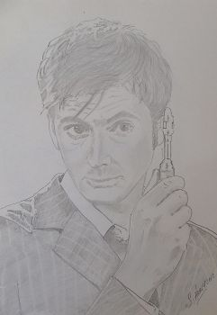 David Tennant by Hiberniart