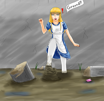 Alice in Quicksand Page 5 by Lady-of-Mud