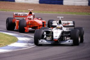 M.Hakkinen|M.Schumacher (Great Britain Test 1999) by F1-history