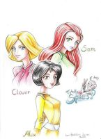 Totally Spies by KatiraMoon