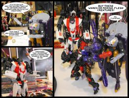 AHF Photocomic TFCon 2014 by WaywardInsecticon