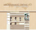 MyDramaList 01 -Brown/Beige- by Min-Jung
